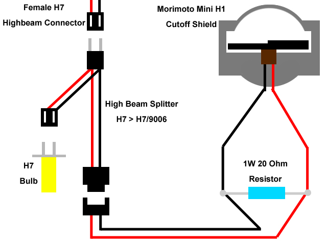 H1 Headlight Wiring Diagram | Wiring Diagram on